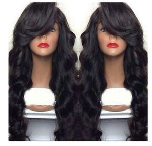 "Long Curly Body Wavy Heat Resistant Synthetic Lace Front Wig Cosplay 20"" - 24"""