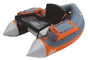 Outcast-Super-Fat-Cat-Float-Tube-gris-orange-faible-les-frais-de-livraison-internationale
