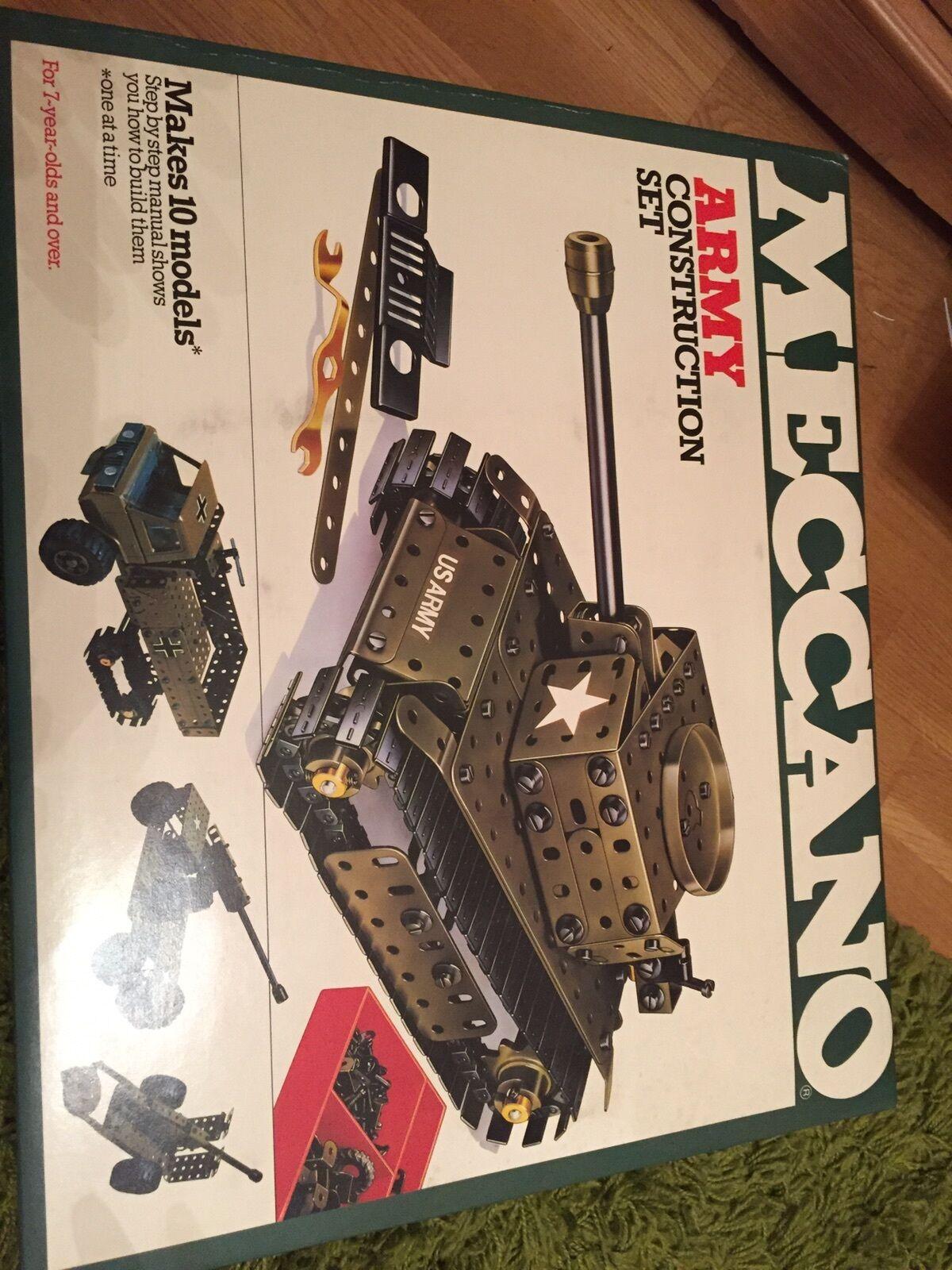 Meccano Tank kit brand new still sealed from 1970's