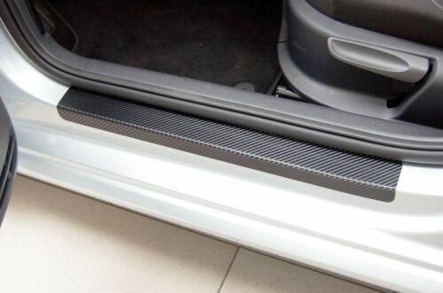 Einstiegsleisten für OPEL ASTRA K TOURER Schutzfolie Carbon Schwarz 3D 160µm