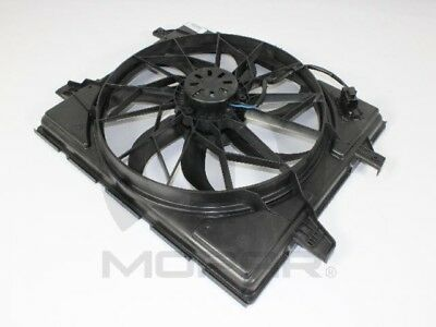 Radiator Cooling Fan Assembly 55037992AD for Dodge Durango Grand Cherokee