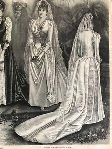 MODE-ILLUSTREE-SEWING-PATTERN-Nov-3-1889-BRIDE-DRESS-DOLLS-garments