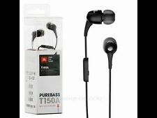 JBL T150A Purebass Earphones With Mic In Ear Sound Wired