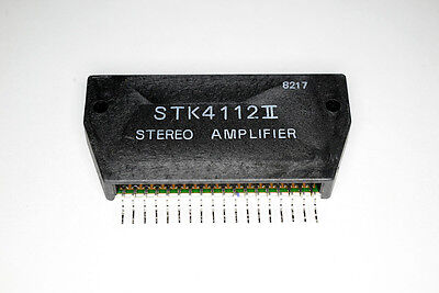 STK4112II Free Shipping US SELLER Integrated Circuit IC STEREO AMPLIFIER