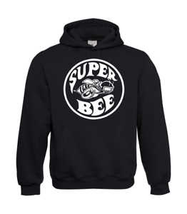 Super-Bee-Dodge-US-Car-Charger-I-Patter-I-Fun-I-Funny-to-5XL-I-Men-039-s-Hoodie