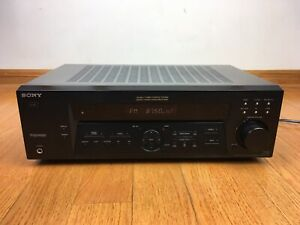 Sony-STR-DE375-5-1ch-AV-Dolby-Stereo-Receiver-Amplifier-2001-TESTED-No-Remote