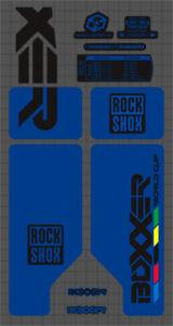 SUSPENSION DECAL SET ROCK SHOX MAG 20 FORK