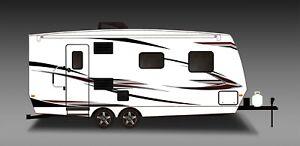 Rv Trailer Toy Hauler Camper Motor Home Large Decals Graphics Kit K 0010 Ebay