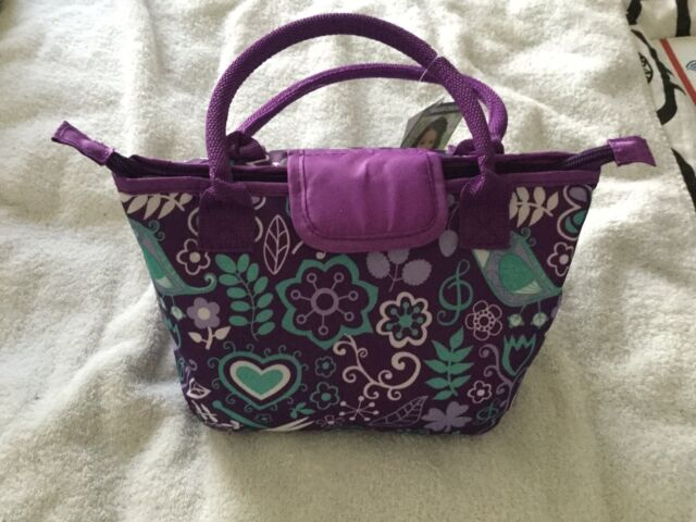 INSULATED 2 COMPARTMEMT ZIPPERED  LUNCH BAG NWOT