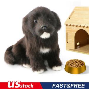 Realistic-Black-Labrador-dog-Puppy-Pet-Simulation-Stuffed-Animal-Doll-Toy