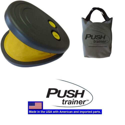PUSH TRAINER portable fitness workout THIGHS chest ARMS business trip exercise