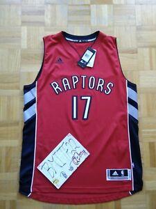 Image is loading NWT-Jonas-Valanciunas-Toronto-Raptors-Away-Adidas-R30- 957eff008