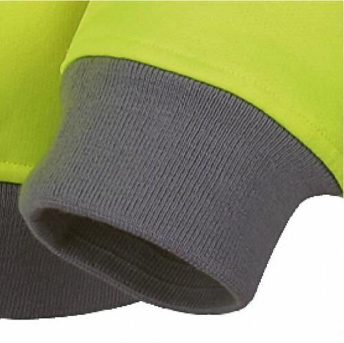 Vizwell Warnschutz Sweatshirt Pullover Warnschutzpullover Pulli Warnjacke