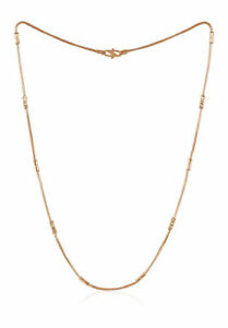 Classy-Dubai-Handmade-Chain-Necklace-In-Solid-916-Stamped-22Carat-Yellow-Gold