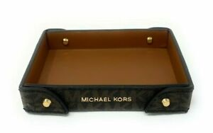 Michael Kors Small Logo Travel Tray Signature Monogram (Select Color)