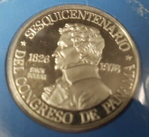 1976-Panama-150-Balboas-Platinum-Proof-Coin-APW-0-2987-oz-with-Box-and-COA