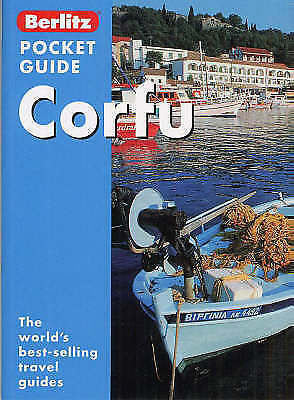 """AS NEW"" Corfu Berlitz Pocket Guide (Berlitz Pocket Guides), , Book"