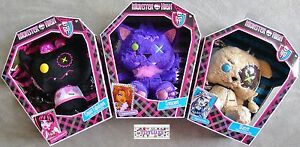 Monster-High-Doll-PLUSH-Pet-8-034-Animal-of-BFF-039-s-Cute-Soft-Toy-Freaky-amp-Fabulous