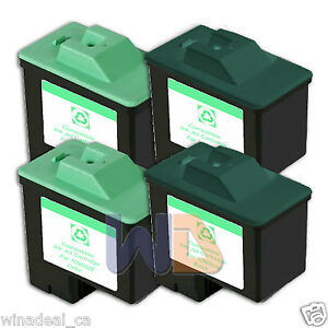 4-PACK-16-26-Lexmark-Ink-Cartridge-for-All-in-One-X1150-X1270-X2250-X75