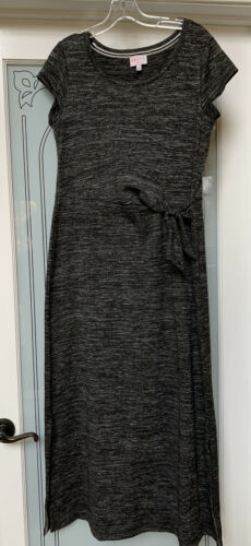 Talbot's OPRAH Magazine Collection DRESS Grey Marl