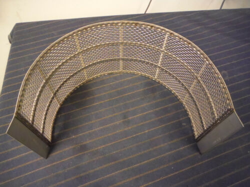 Fitzpatrick FitzMill Hammer Mill Screen 1536 0006 Square Mesh Perforated