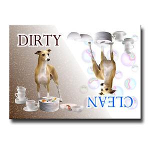 ITALIAN-GREYHOUND-Clean-Dirty-DISHWASHER-MAGNET-Iggie