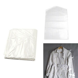 10pc-Set-Plastic-Dry-Cleaning-Bag-Transparent-Clothing-Dustproof-Cover-Bag