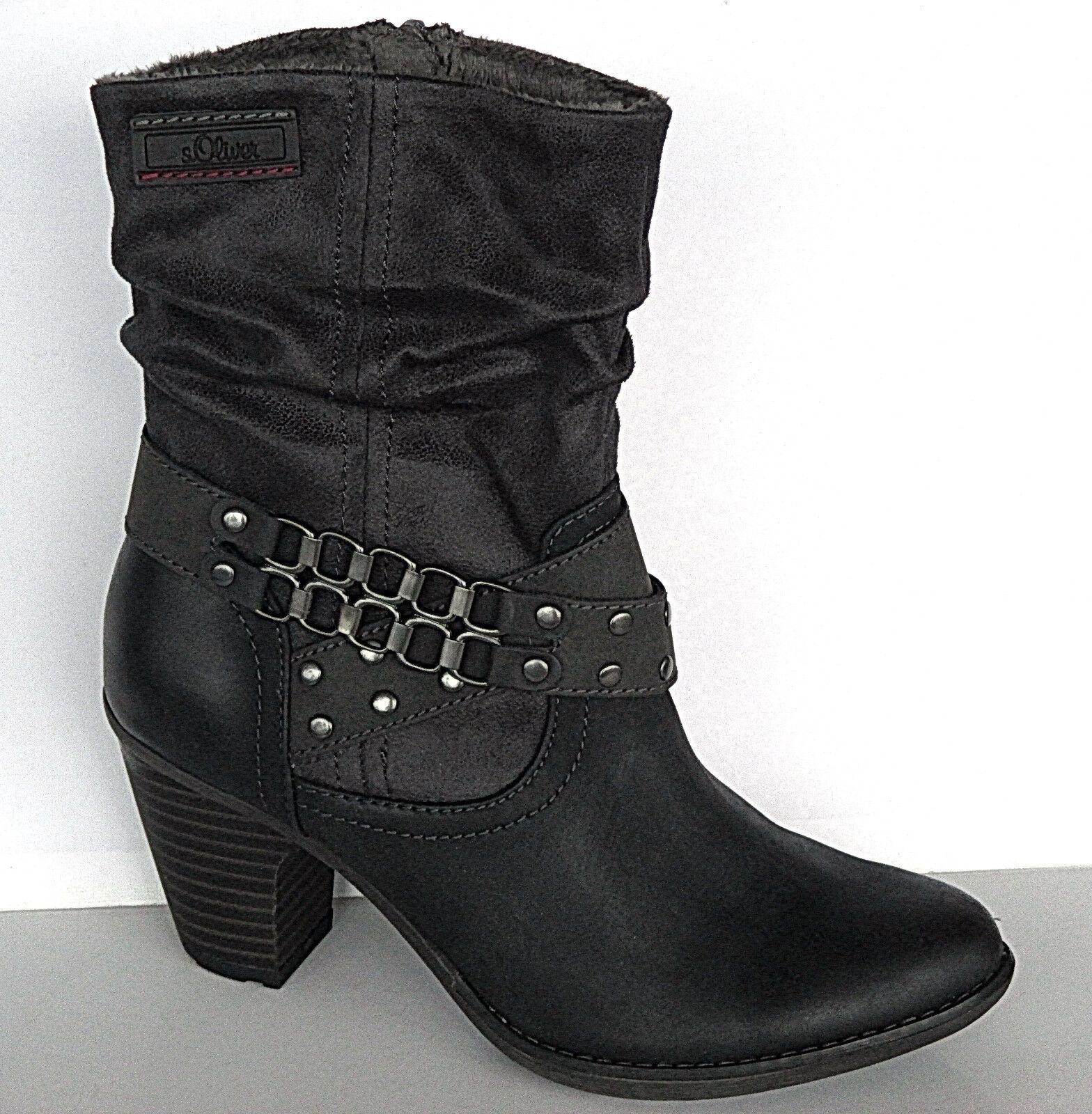 S oliver  Schuhe Damen Schuhe Stiefelette, Gr. 36-41, 5-25361-29  +++NEU+++