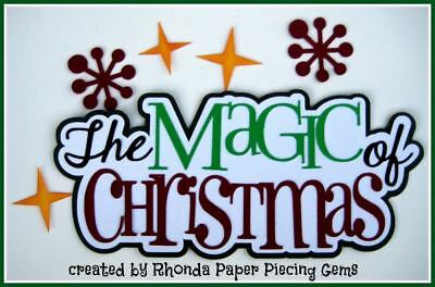 BIG SISTER title paper piecing for Premade Scrapbook Pages ALBUM by Rhonda