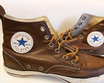 Converse Hi tops Mens Size 7 brown