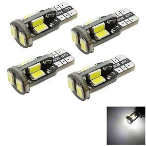 4-x-T10-10-SMD-5730-LED-Pure-White-Super-Bright-Auto-Car-Light-Bulb-194-168-KY