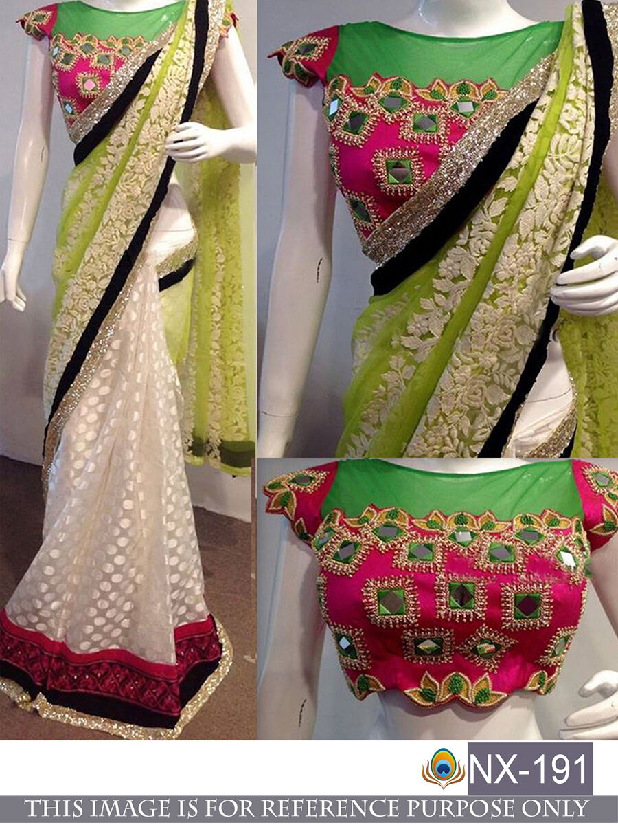 Cultural Program Bollywood Fashionable Traditional Ethnic Designer Wedding Saree