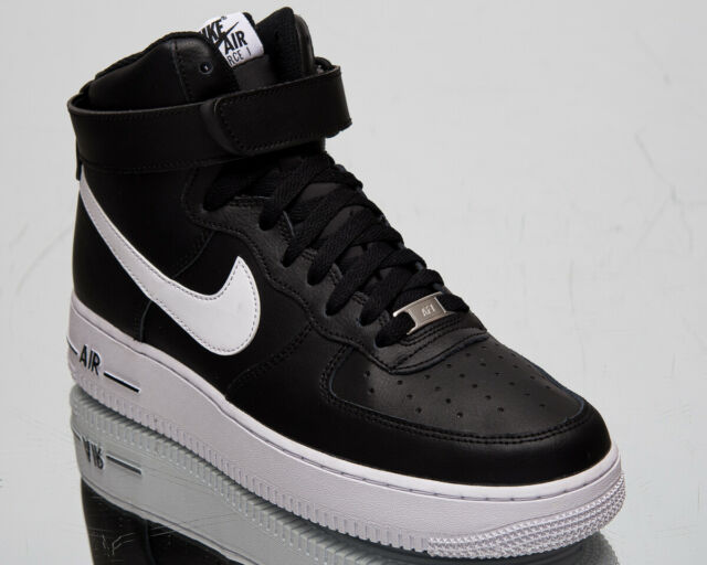Nike Air Force 1 High '07 AN20 Men's AF1 Black White Lifestyle Sneakers Shoes