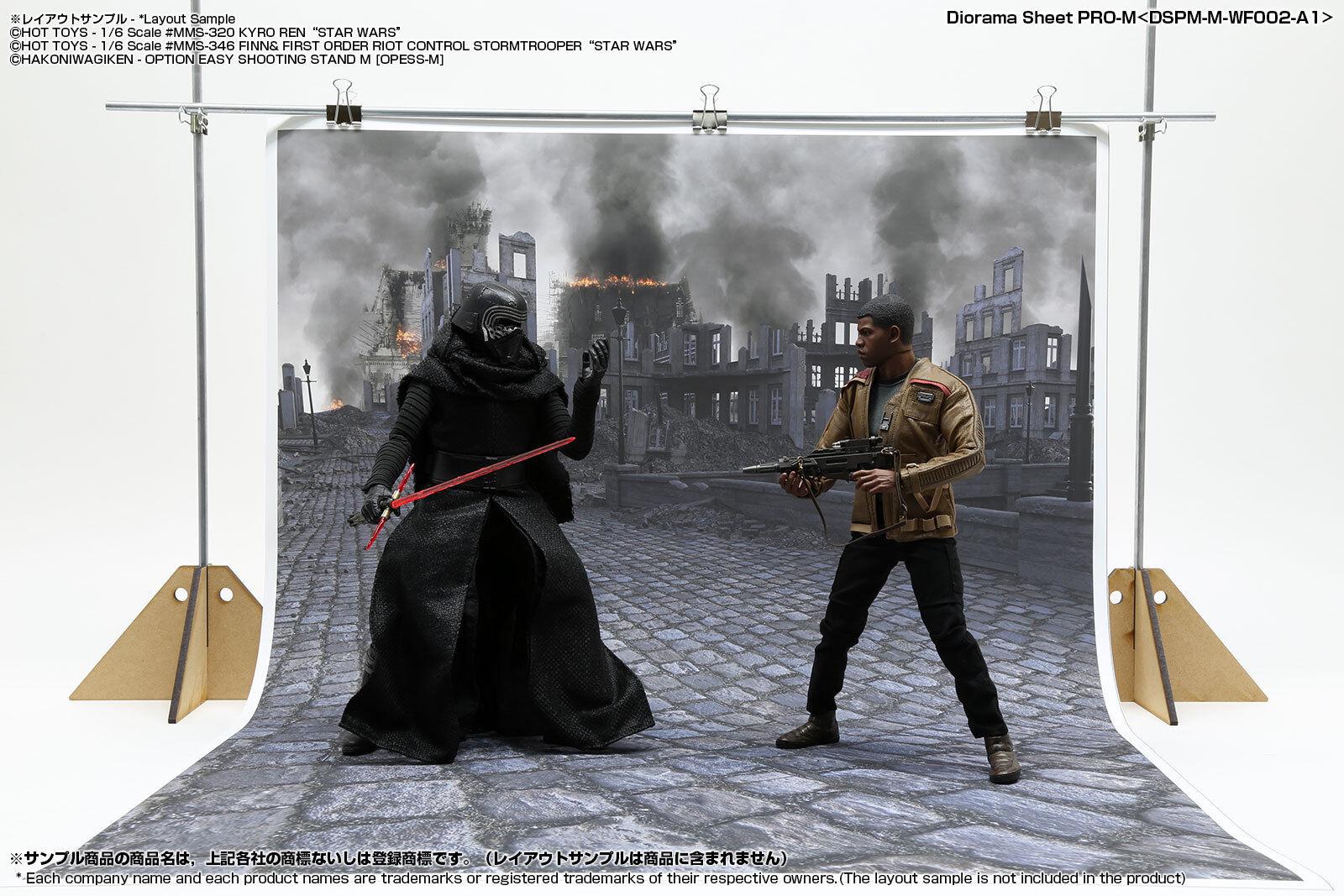 [HAKONIWAGIKEN] Diorama Sheet PRO-M battlefield A1 600x900mm DSPM-M-WF002-A1