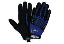 HexArmor 4024-L Large Black Blue Chrome Series Impact Cut Resistant Gloves