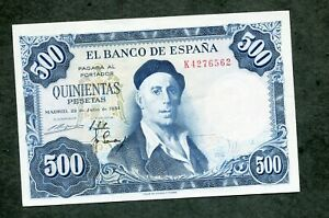 BILLETE-500-PESETAS-1954-SERIE-K-4276562-SC