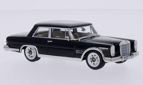 Descuento del 70% barato Maravilloso modelCoche Mercedes-benz Mercedes-benz Mercedes-benz 600 nallinger Coupe 1966-Negro - 1 43  gran descuento