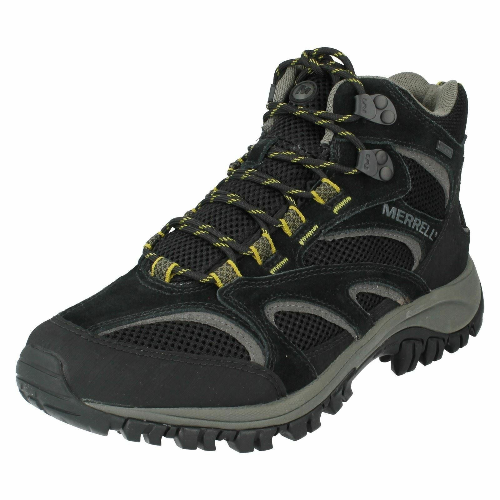 MERRELL MENS LACE UP WALKING HIKING LEATHER ANKLE Stiefel PHOENIX MID WATERPROOF