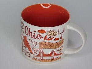 Starbucks 2018 Ohio Been There Series Across the Globe 14oz Coffee Mug