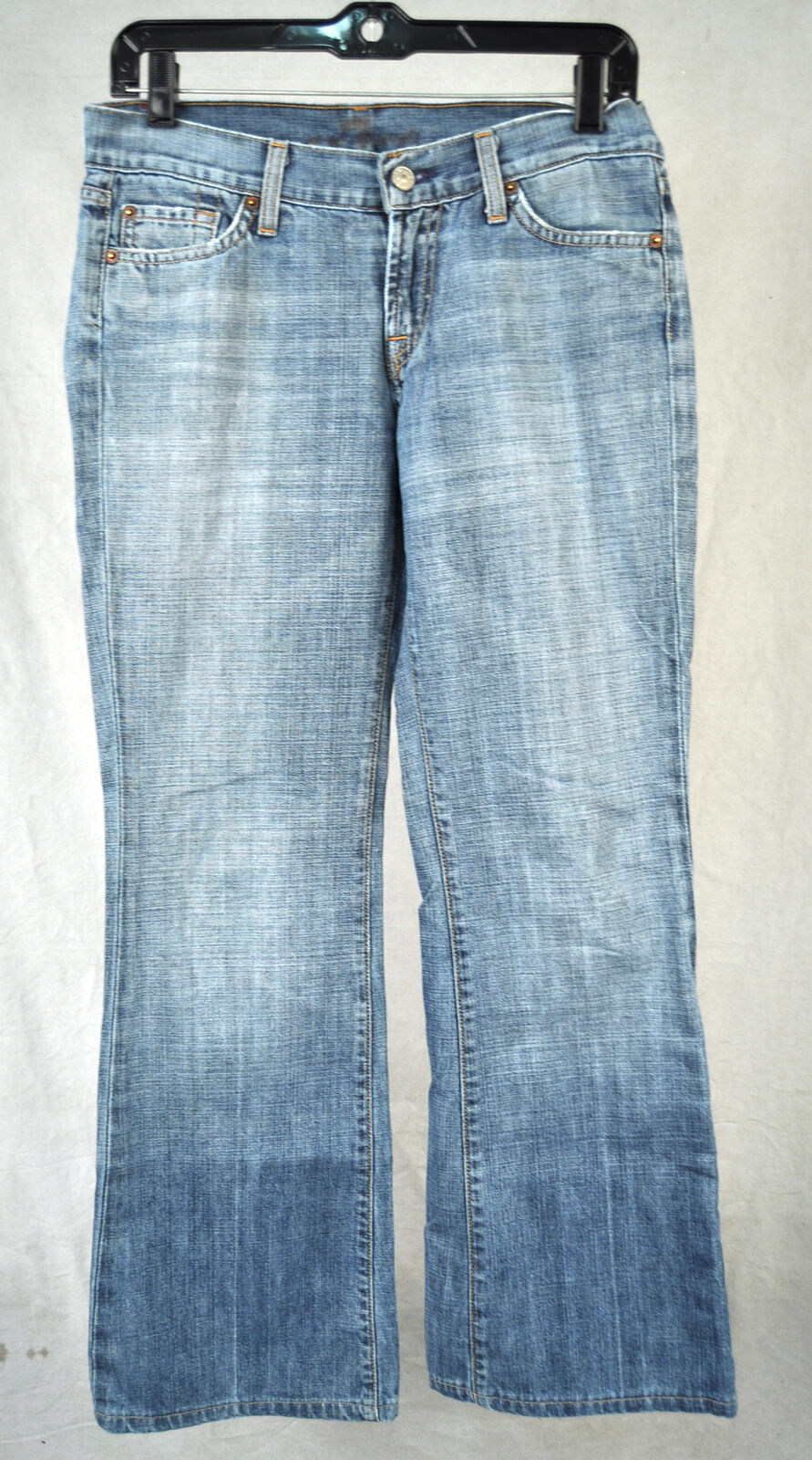 7 For All Mankind Seven Flare Medium New York bluee Jeans 28 USA