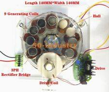 Coreless Brushless Emergency Power Supply Diy Hall Coil Drive Wind Turbines