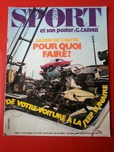 1971-SPORT-et-son-poster-n-34-SALON-DE-L-039-AUTO-LA-LUNE-TOUR-DE-L-039-AVENIR-BASKET