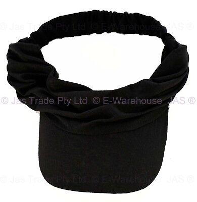 Men Women Unisex Pony Tail Sun Hat Sports Bandana Scarf Headband Visor Cap   cdf952b8b6d8