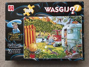 "Wasgij? - ""Bear Necessities!"" - 1000 piece jigsaw by Graham Thompson - complete"