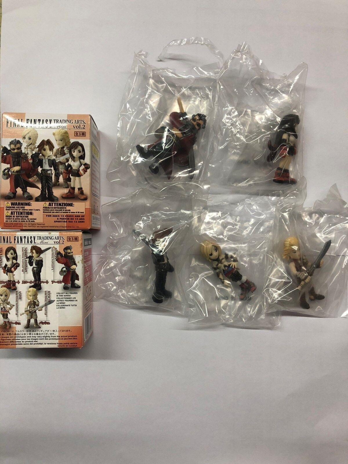 RARE Square Enix Final fantasyc trading arts mini cifra vol.2 full set of 5 pcs