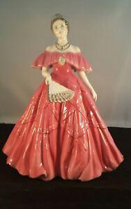 Royal-Worcester-Queen-Elizabeth-The-Queen-Mother-Ltd-Edition-Figurine-CW461