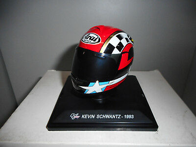 Cgp 08 Kevin Schwantz 1993 Winn Moto Bike Gp Collection Helmets Altaya Ixo 1/5