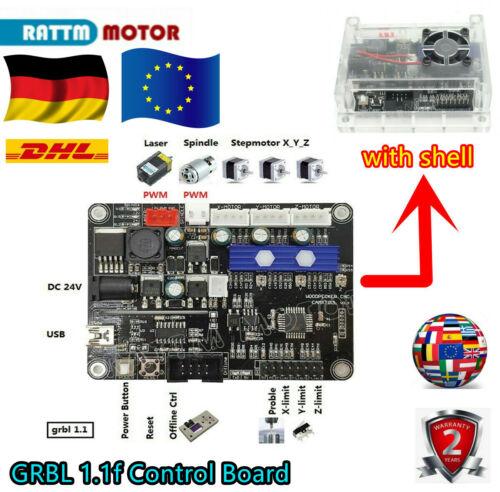 『AT DE』USB CNC Engraving Machine GRBL Control Board 3 Axis Control Laser Machine