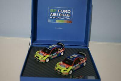 IXO Ford Focus 2 Car Set ABU DHABI HIRVONEN//Latvala 1:43 F03MC2-43