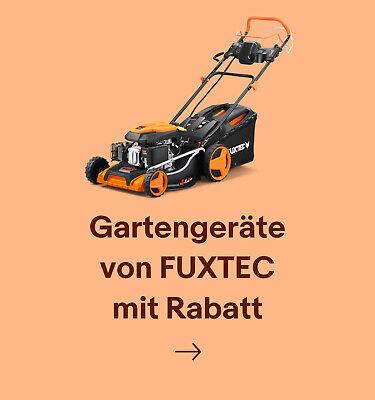 Gartengeräte von FUXTEC mit Rabatt